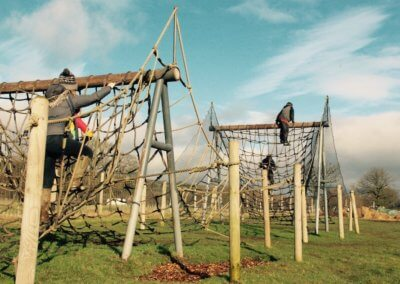 The Bear Trail assault course
